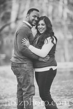 Brianna & Lonnie B/W Engagement