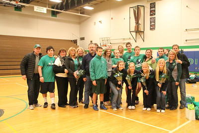 Senior Night 2014 - Photos by Elena
