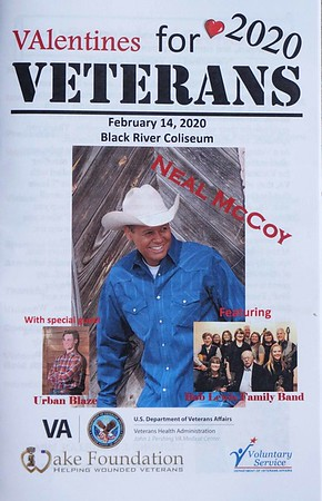 2020 02 14 Valentine's for Veterans - Neal McCoy