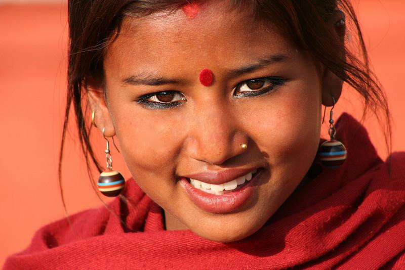 Street vendor. Kathmandu, Nepal