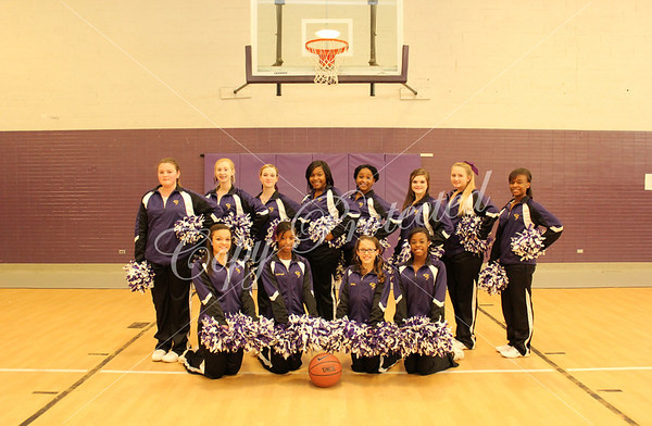 SMS Basketball Cheerleaders 2014