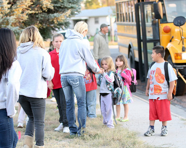 Softball and Northfield -- Walk to School Day