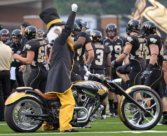 Deacon motorcyle pregame.jpg