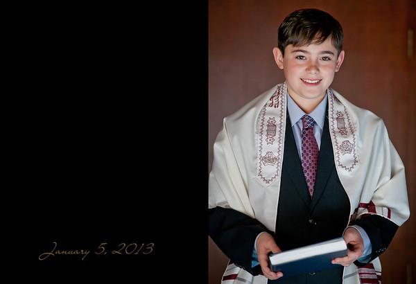 Mitzvah Album Proof