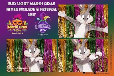 Bud Light Mardi Gras