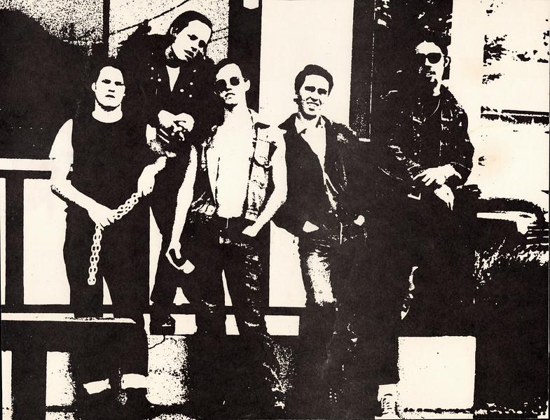 Jim, Bill, Mike, Eric Anderson and Joe Heinrich 1972 Santa Cruz, California