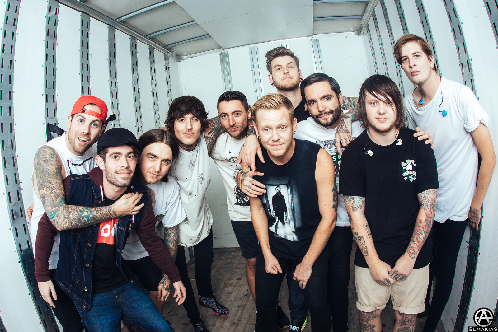 A Day To Remember with Bring Me The Horizon - Parks and Devastation Tour by Adam Elmakias