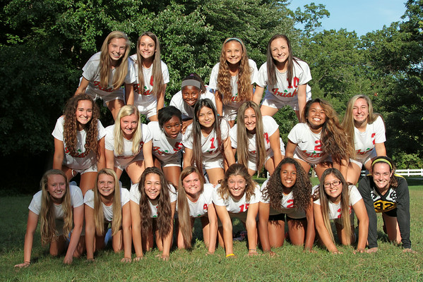 CCHS Lady Soccer 2014
