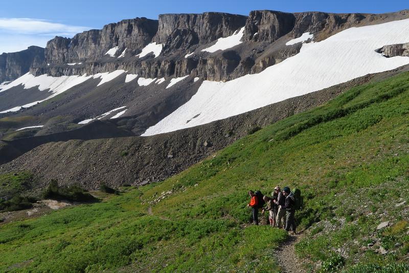 Beside Schoolroom Glacier