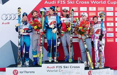 Val Thorens Audi ski cross World Cup 2015/16
