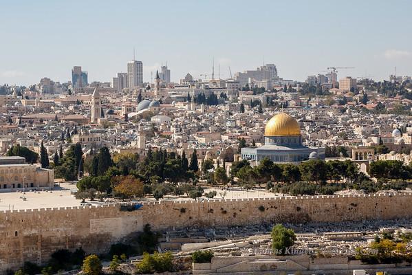 Mount of Olives October 2013