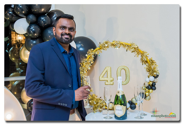 Ratan's Surprise 40th Birthday Party 2019