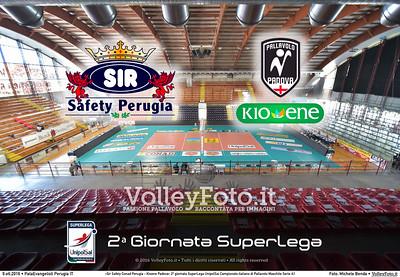 2ª #Superlega: Sir Safety Conad Perugia - Kioene Padova