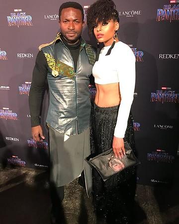 Marvel Black Panther NYFW 'Welcome To Wakanda' Fashion Show - February 12, 2018