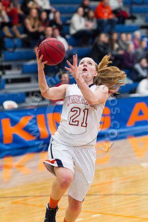 Wheaton College Women's Basketball vs North Central College, January 25, 2014