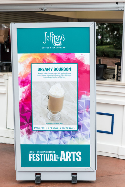 Joffrey's Specialty Beverages - Epcot International Festival of the Arts 2017