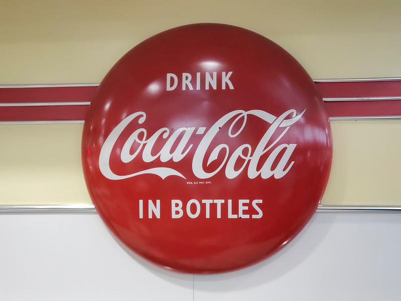 Coca Cola trademark...famous all over the world