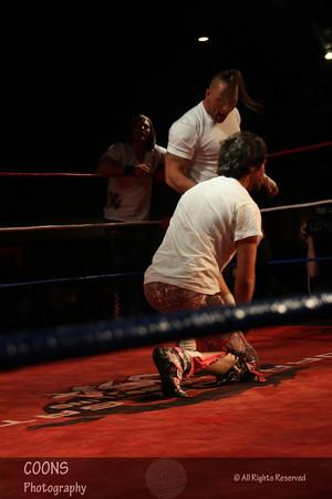 DGUSA 11/11/11 -  The Scene vs Arik Cannon & Pinkie Sanchez with Sami Callihan