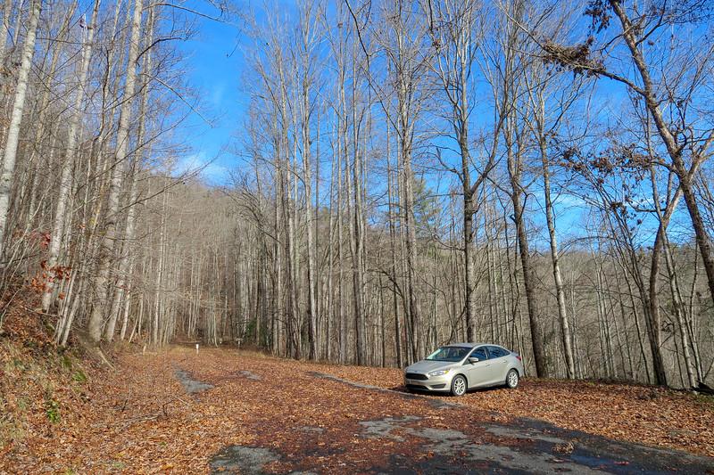 Appalachian Trail Parking Area -- 1,900'