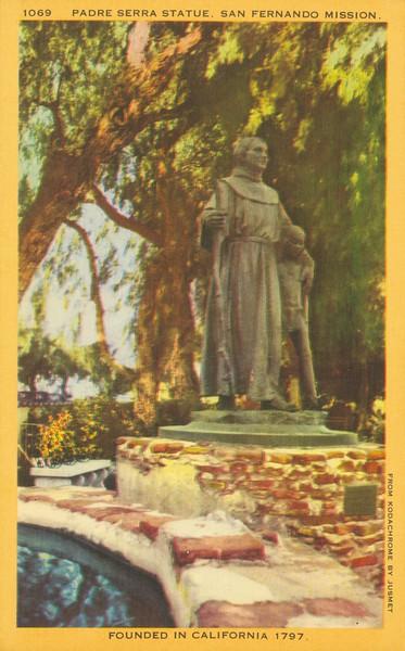 Padre Serra Statue