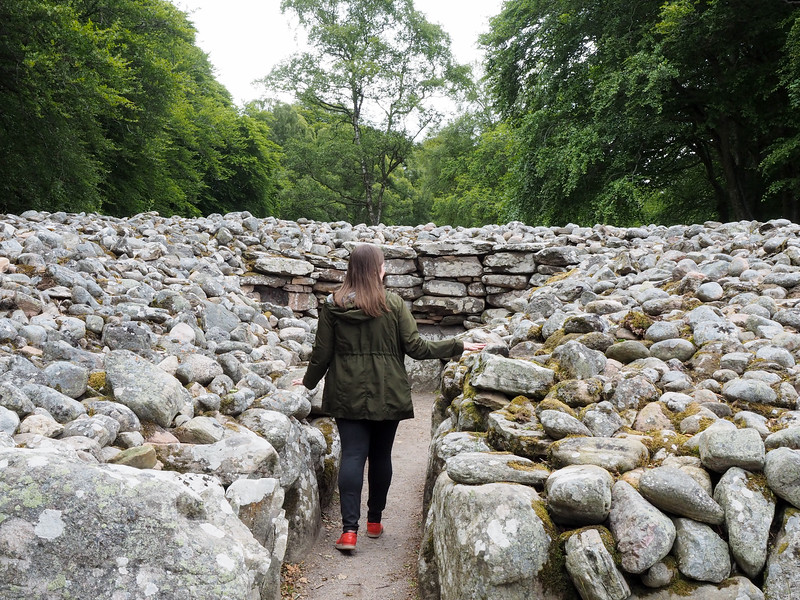 Clava Cairns in Scotland