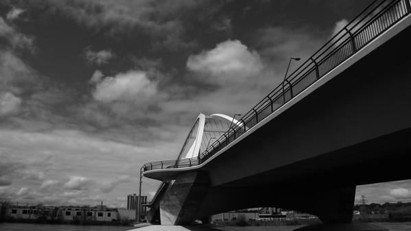 Under the Lowry Bridge