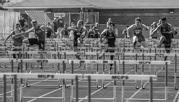 2016 Missoula Invite - 110m hurdles - boys