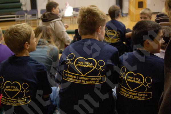 Veterans Visit Tremont School: November 10, 2010