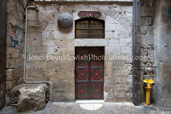 ISRAEL, Jerusalem, Old City. Via Dolorosa (8.2016)