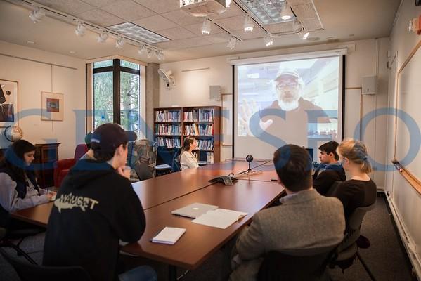Glenn McClure Skype Session from Antarctica
