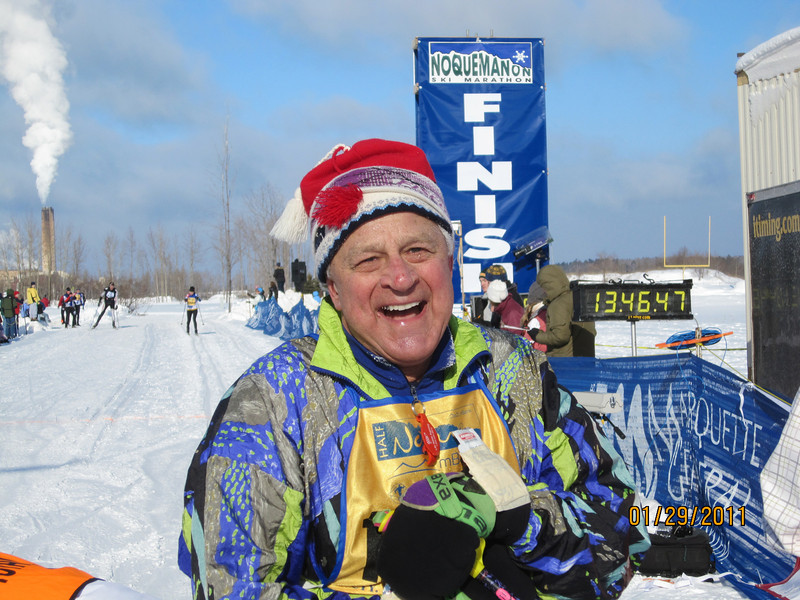 Norm Heffke of MQT at 74 and still going strong.