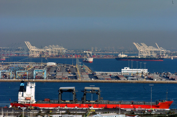 Pictures From The Port Of LA