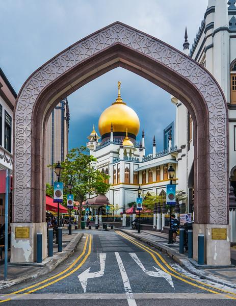 Street Walk in Singapore