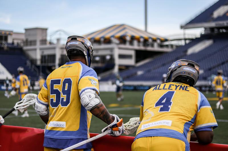 7/22/2020; Annapolis, MD, USA; Bayhawks vs. Hammerheads  - at Navy Marine Corps Memorial Stadium. Mandatory Photography Credit: Anne Evans