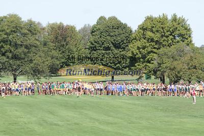 College Men Start - 2012 Spartan Invitational