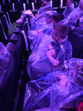 Grandkids to Blue Man Group 12.27.17