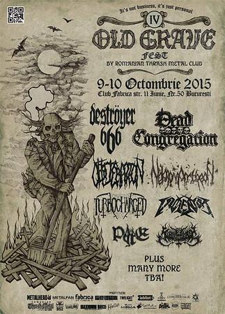 DEAD CONGREGATION – Old Grave Fest  10/10 2015