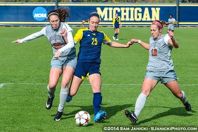 Best of UM Women's Soccer Vs Ohio State 10-19-14