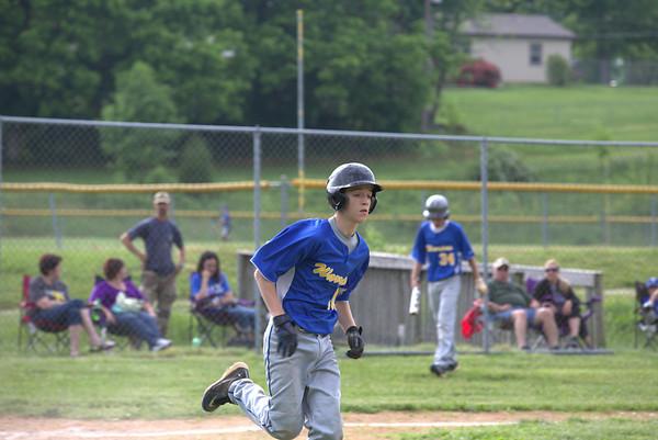 CAI MS Baseball vs Pekin 5-22-13