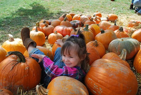 Vanzant's Pumpkin Farm - 2010