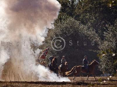 Battle of Hogtown at Poe Springs 2008 Reenactment