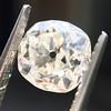 0.94ct Antique Cushion Cut Diamond GIA K Sl1 6