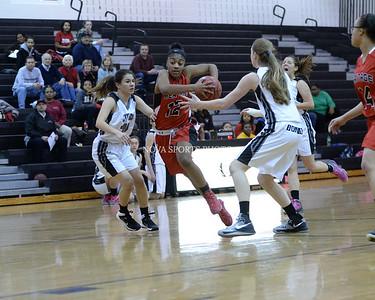 Girls Basketball: Heritage vs. Dominion 2.3.14