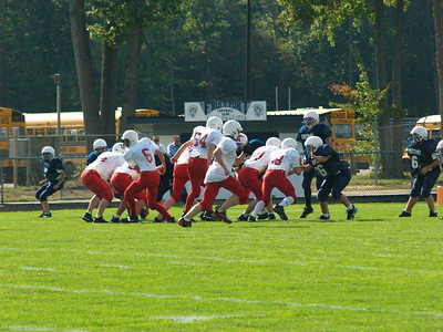 Boys 8th Grade Football - 2007-2008 - 9/19/2007 Fruitport HH