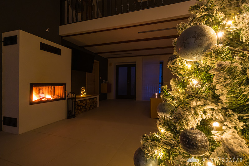 Christmas decorations at home - Jan 2021