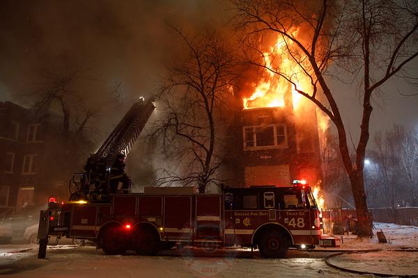2-11 Alarm of Fire 1540 S. Hamlin