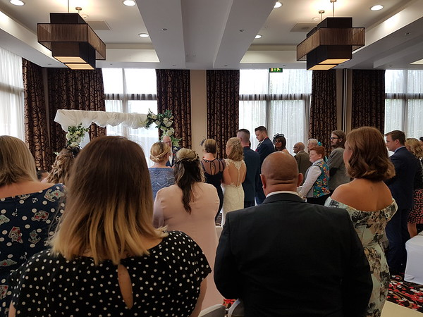 Mark and Tracey Sargantsons wedding