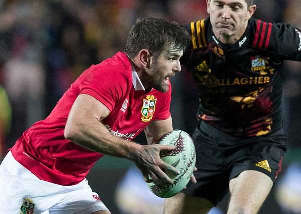 Jared Payne during game 6 of the British and Irish Lions 2017 Tour of New Zealand,The match between  The Chiefs and British and Irish Lions, FMG Stadium, Hamilton, Tuesday 20th June 2017 (Photo by Kevin Booth Steve Haag Sports)  Images for social media must have consent from Steve Haag
