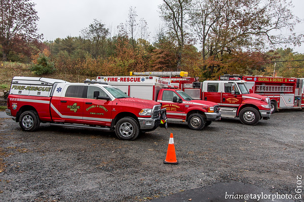 Oakhill and District Fire Department open house, Oct. 11, 2019
