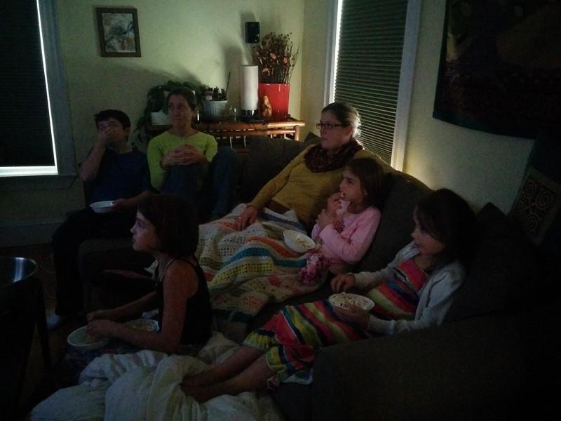 Family movie time!